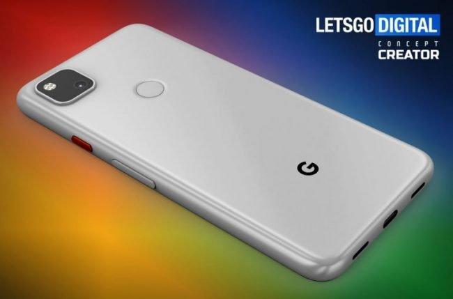 google pixel 4a smartphone render 1