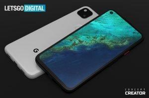 google pixel 4a smartphone render 2