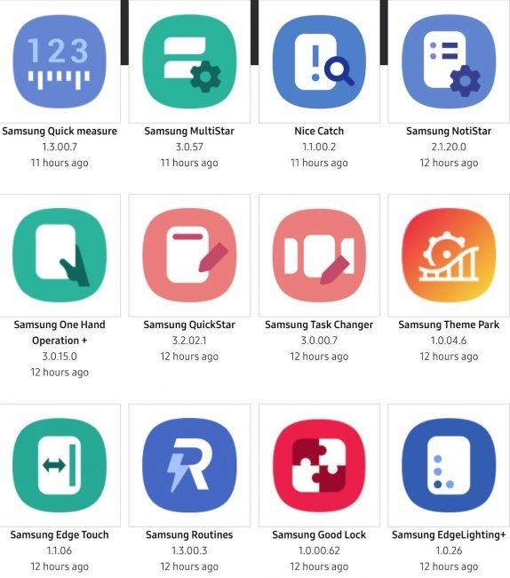 samsung aplikace