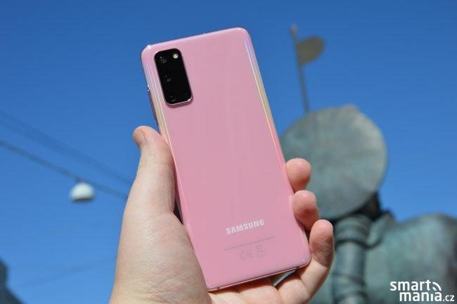 Samsung Galaxy S20 Recenze 30