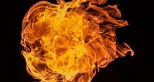 exploze ohen fire explosion