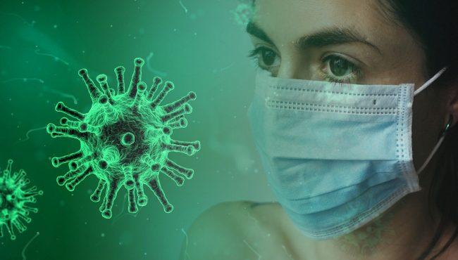 koronavirus maska pixabay