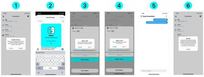 Facecharm app 21