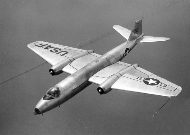 Martin B 57A USAF