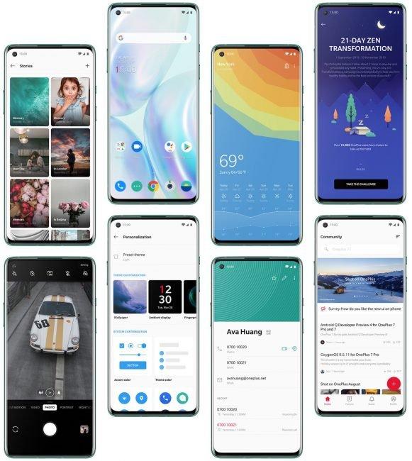 OnePlus 8 OxygenOS