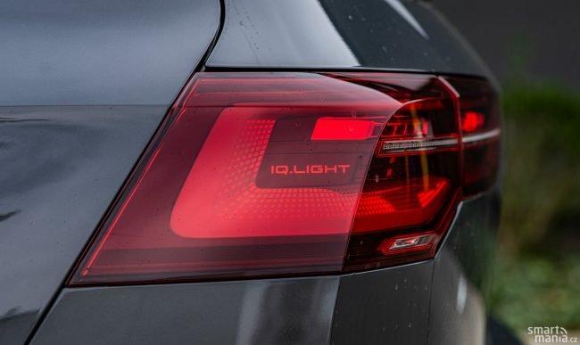 Design zadních světlometů je úchvatný.