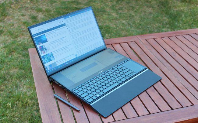 ZenBook Pro Duo recenze