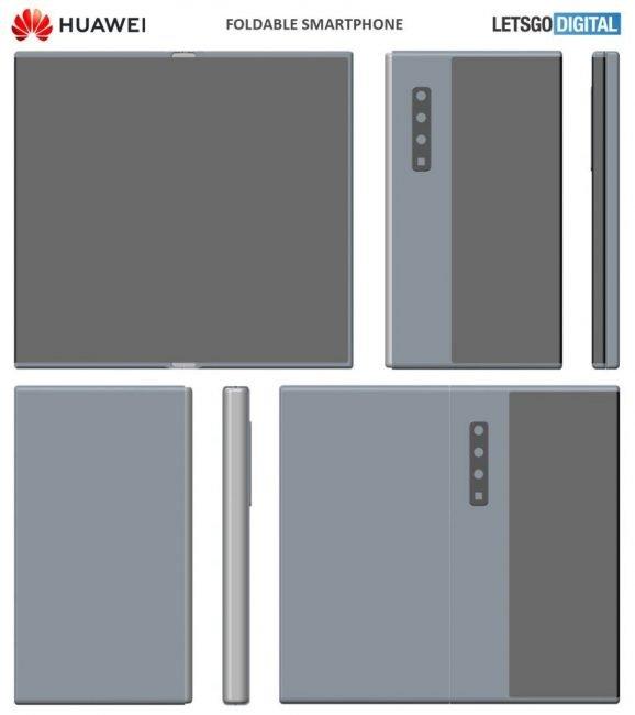 huawei mate foldable smartphone