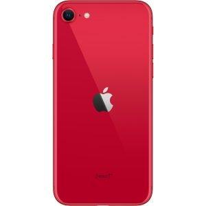 iphone SE cerveny