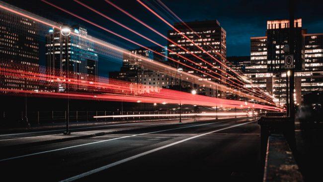 network city mesto svetla lights