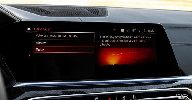 BMW X6 udělá pro svou posádku cokoliv. V nabídce má i relaxační programy.