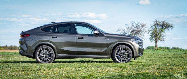 BMW X6 je zakladatelem kategorie kombinující kupé a SUV. Vyznavači velkých kufrů jen kroutí hlavami.