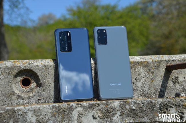 Huawei P40 Pro Samsung Galaxy S20 1