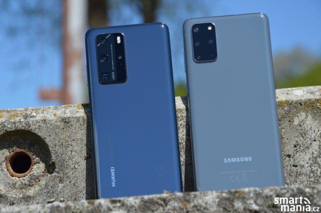 Huawei P40 Pro Samsung Galaxy S20 3
