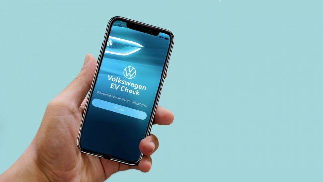 Volkswagen EV app