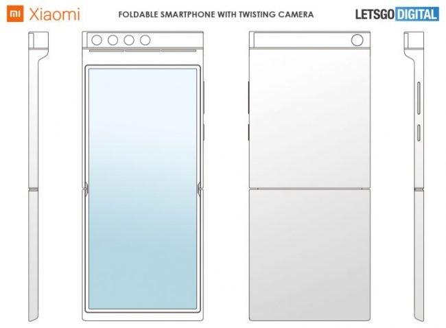 Xiaomi skladaci telefon otocny fotoaparat