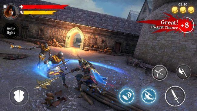 iron blade medieval rpg