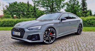 Audi A5 Sportback 2020 recenze