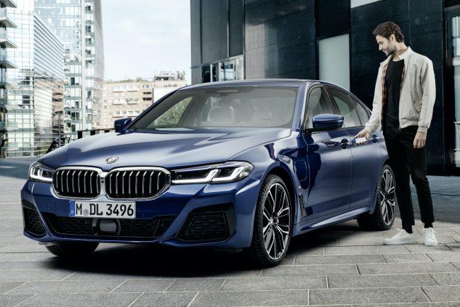 BMW odemykani auta iPhonem