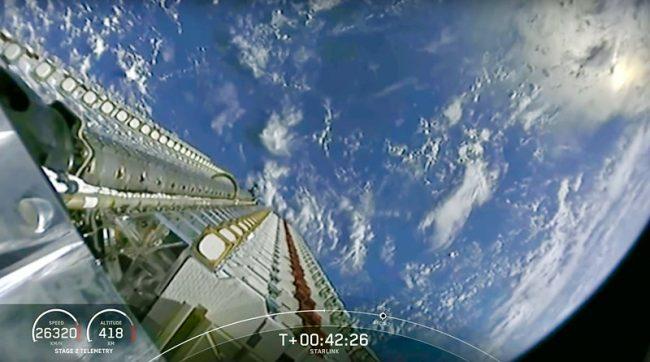 Starlink satelit