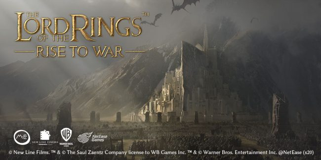 lord of the rings mobile game