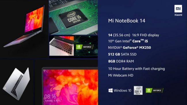 mi notebook 14 2