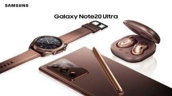 Samsung Galaxy Note 20 hodinky sluchatka