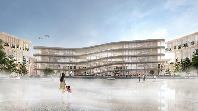 Město budoucnosti - Woven city