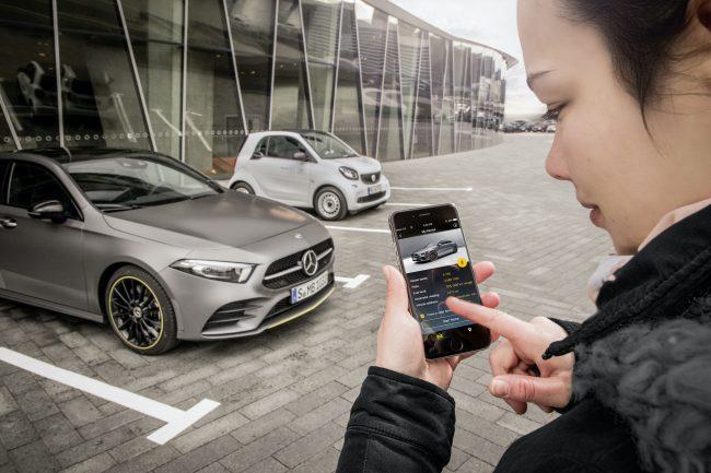 Odemykání auta telefonem