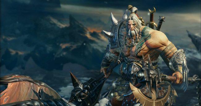 Diablo Immortal Barbarian