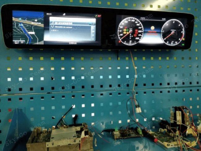 Mercedes odmontovana palubni deska