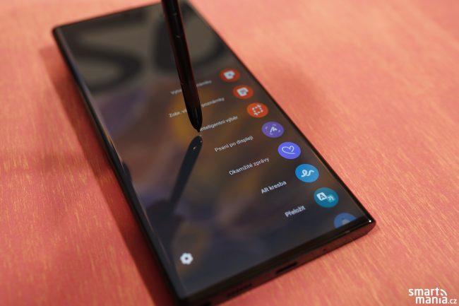 Samsung Galaxy Note 20 a pero S Pen