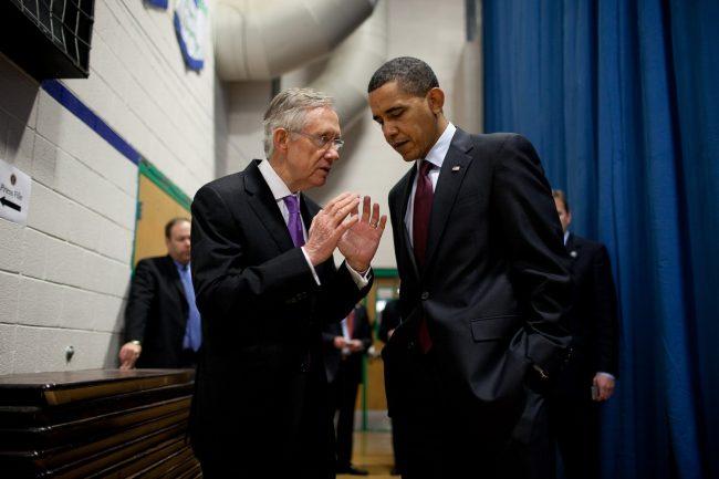 harry reid barack obama
