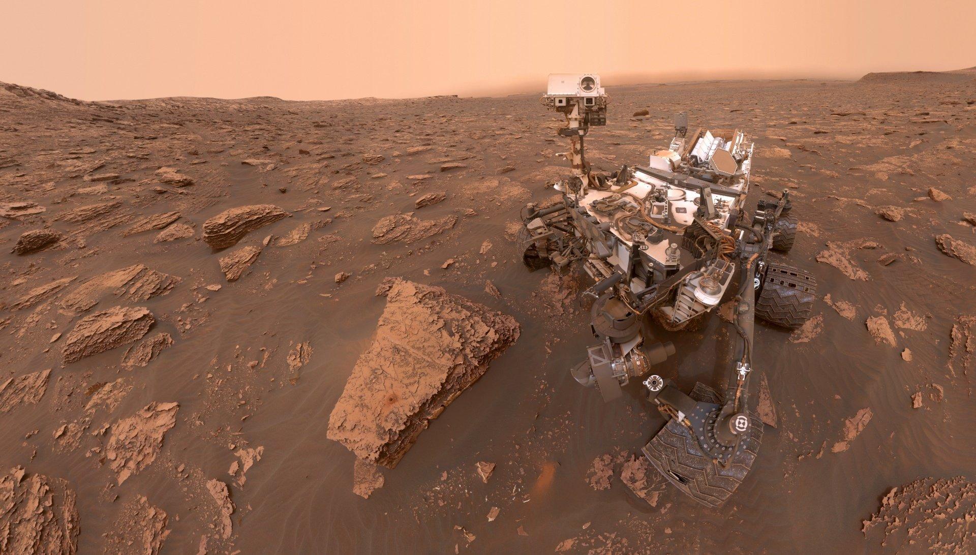 Nečekaný objev: krajinu Marsu nevytvořila voda. Rudá planeta připomíná Kanadu
