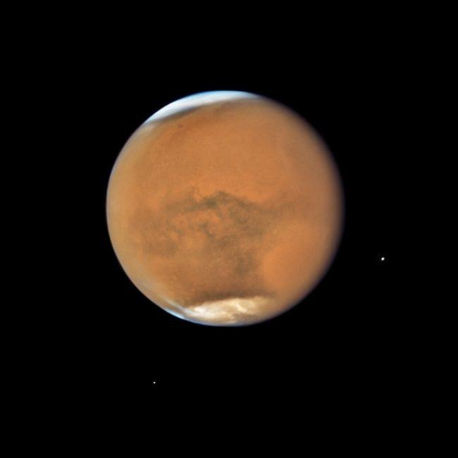 mars planeta hubble