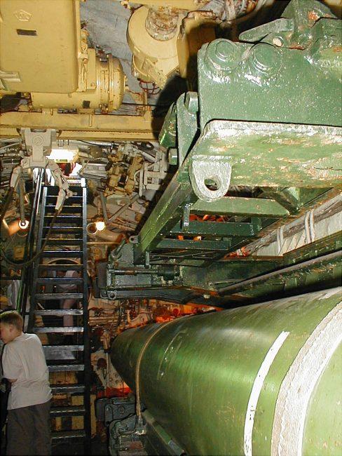 FoxTrot ponorka interie