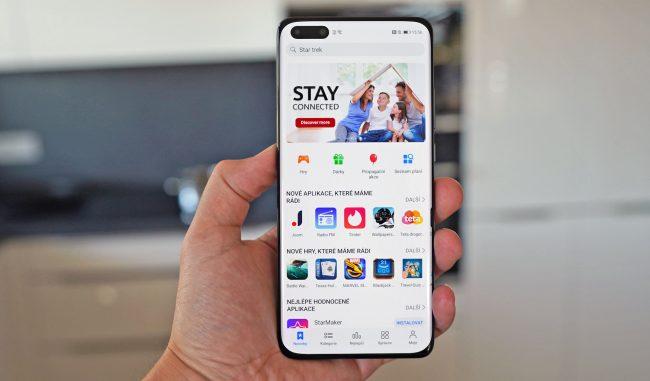 Huawei P40 Pro AppGallery Petal clanek