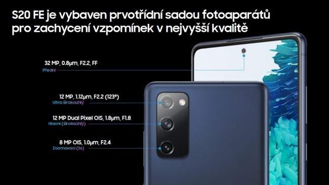 S20 FE fotoaparat