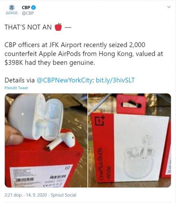airpods oneplus fake