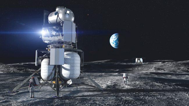 blueorigin hls lander