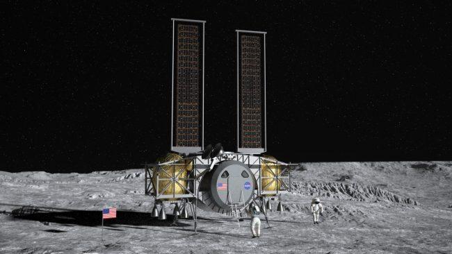 dynetics human lander