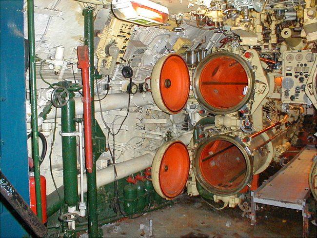 foxtrot ponorka torpedomet