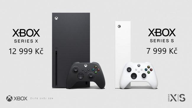 xbox series s x cz ceny