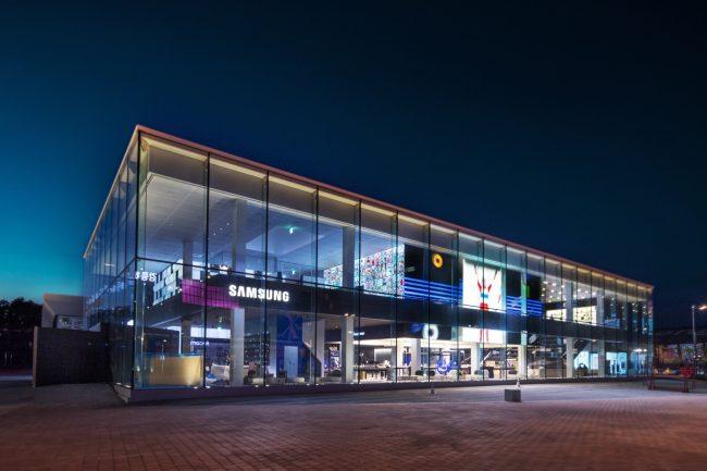 Samsung logo, konference