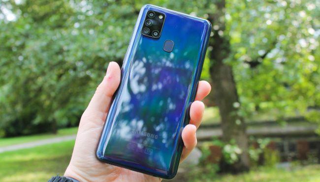 Samsung Galaxy A21s uvod