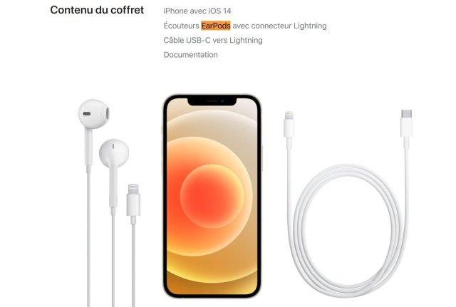 iphone 12 sluchatka francie