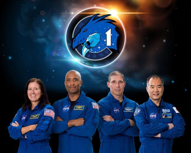 SpaceX Crew 1 Commercial Crew Portrait