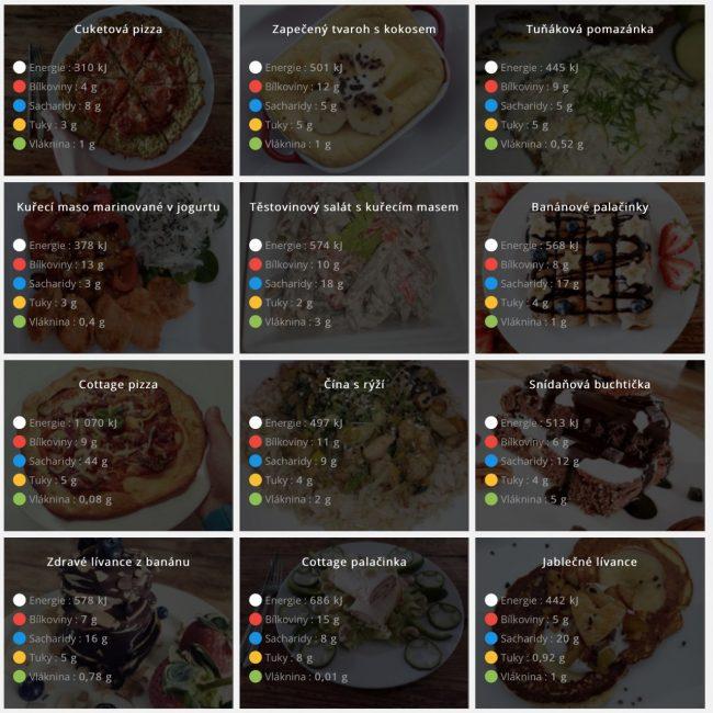 Na webové verzi najdete obří databázi receptů pro zdravý životní styl