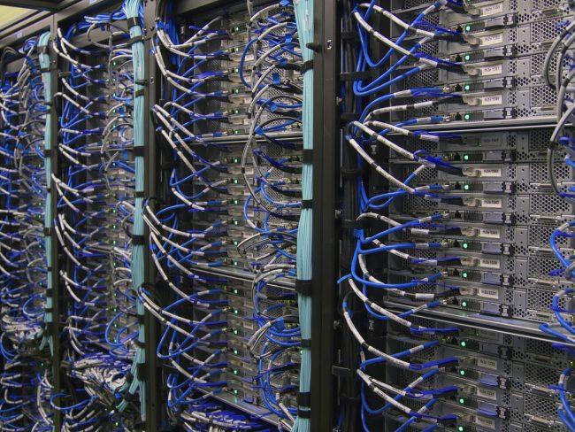 servery serverovna cloud