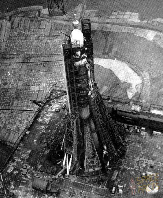 sojuz11 raketa bajkonur